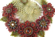 Beaded necklaces, pendants and sets /   / by Bead It, Sew It, Build It