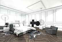 Suprematism in furs / Apartment for rent interior arrangement in Moscow. Project: 2014/15; Phase: concept.