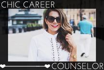 Chic Career Counselor / Career advice on everything from what to wear on an interview to how to network.  / by Glam