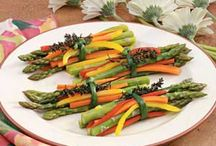 Vegetables, Salads and Soups