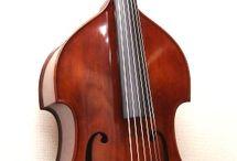 Bass upright