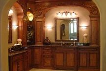 baños lavabo espejos
