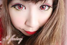 Red Color Contact Lenses