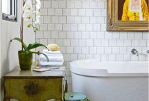 Bathrooms / by Jennifer Kostohryz/ JSK Interiors