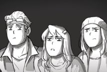 My Friends (MCSM) / Mis amigos de minecraft story mode son: M.Jesse, Lukas, F.Jesse, Petra, Romeo, Xara, Radar, Olivia, Axel y Nikki  Y sobre todo Reuben
