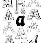 elementary art - typography/calligraphy