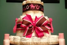 Custom Personalized 65 DIAPER CAKE Cowgirl by DiapersAndDoodads, $50.00