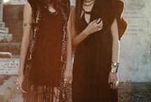 bohemian goth / bohemian & gothic
