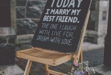 Wedding Day Signs / Quotes