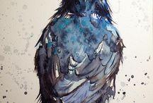 raven|crow| / illustration collection #raven #crow #ravenart #ravendrawing #gothic #gothicart #gothicillustration #gothicdrawing #darkart #darkfantasy