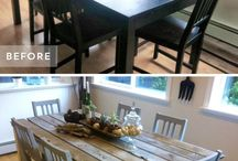 Casa Muebles Mesas sillas: Tables and chairs makeovers
