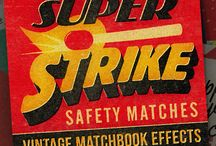 Matchbook Graphics / Selection of Matchbook Graphics