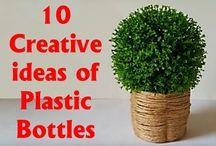 Műanyag palack felhasználása