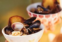 SEAFOOD-shellfish and fruit de mar / Everything but the fish! / by Oree G.