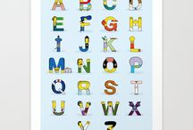 Letters & Numbers / ideas for letters & numbers (mostly for cookies)