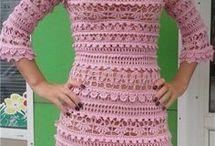 связать винтажное платье