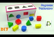 Juguetes y juegos reciclados