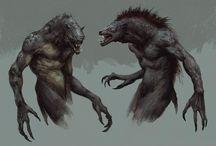 Werewolves / by Israel Milstead