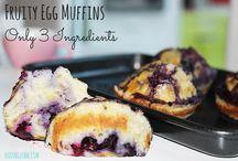 fruit Eggs muffins