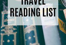 // travel reading list //