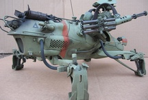 M is for Mecha / Mighty millitary mechanical models