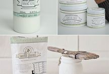 / milk paint: COLOR OF THE MONTH