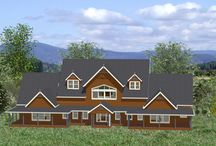 Concept Designs - Works In Progress! / Concept Images of homes currently being developed for lucky clients