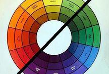 Kleurtheorieën / Colour theories