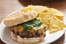 All about burgers! / by Katie Greenslade Merrill