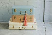 Suitcase stacks / by Talia Adomo