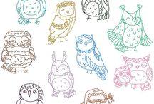 chouettes owls buho / des chouettes, des chouettes et encore des chouettes!