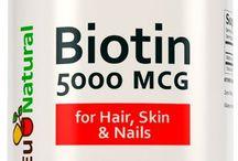 Amazon.com: Biotin 5000 mcg, 120 Vegetarian Capsules (for Hair Growth, Skin, and Nails): Health & Personal Care