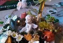 ceasca din care curg flori