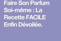parfum creation