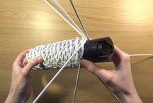 плетение новогоднего венка