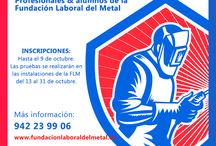 VI CONCURSO SOLDADOR DEL AÑO EN CANTABRIA / Este tablero recoge todas las imágenes de la sexta edición del concurso de soldadura que lleva a cabo cada año la Fundación Laboral del Metal.