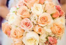 Winnie's wedding inspiration / Peachy themed