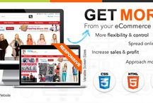 E-commerce Web Development / Let Our Experts Take Responsibility To Make Your Website Most Selling Tool!