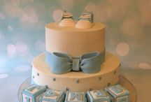 Baby Shower and Baby's 1st Birthday Cakes