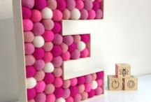 deco wooden letters / iders for disangeing wooden letter