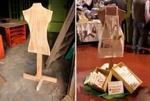 dress stands / by Charlotte Robbins