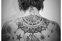 Neck mandalatattoo / @kalka tattoo rishikeah