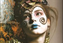 In the Name of Art / Artistic expressions of makeup  / by Princess Monique