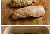 Chicken stuffed