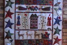 patchwork cuscini