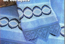 Barrados Crochet Filê