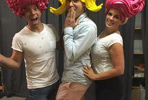 Foam Wigs