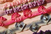 Braids and ribbon embellishments