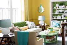 Interior Color | Yellow / by Kate | Sensational Color