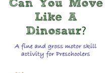 Latticed Learning: Dinosaurs